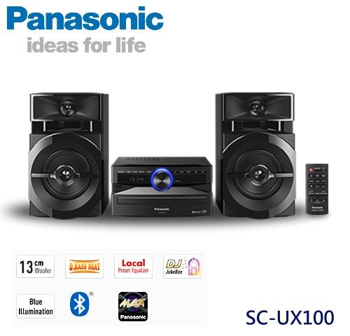 【佳麗寶】-(Panasonic國際牌)藍芽組合音響【SC-UX100】-0