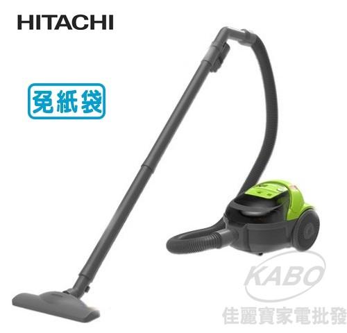 【佳麗寶】-(HITACHI日立)免紙袋型吸塵器CVBM5T-0
