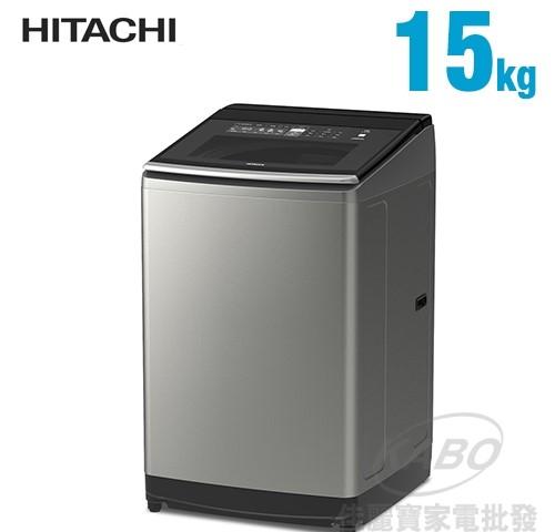 【佳麗寶】-來電享加碼折扣(日立HITACHI) 15KG直立變頻洗衣機SF150TCV-0