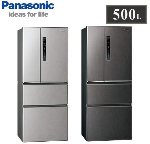 【佳麗寶】留言享加碼折扣(Panasonic國際牌)500L四門變頻冰箱 NR-D501XV-0